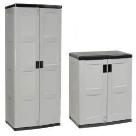 Plastic Storage Cabinets Feature Quality Construction, Are Virtually