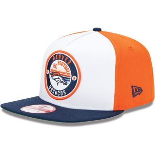 Denver Broncos Hats Mens New Era Denver Broncos Retro Circle 9FIFTY