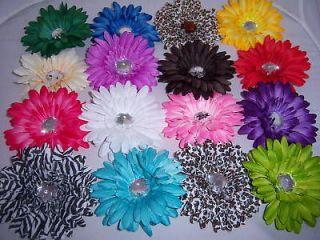you pick lot 6 GERBER daisy FLOWER WEDDING CRAFTS HAIR