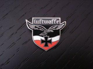 German Luftwaffe Eagle Iron Cross Custom Pin Badge