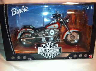1999 Barbie Harley Davidson Fat Boy