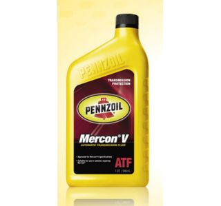 6416 Pennzoil Auto Transmission Fluid   Mercon V CS12 for 05 up Honda