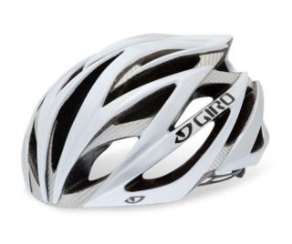 Giro Ionos Road Bike Cycling Helmet   White / Silver   Large