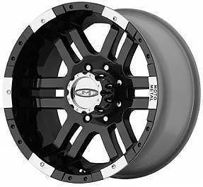 BLACK MO951 WHEELS 8 Lug Rims Chevy 2500 Dodge GMC Truck Moto Metal