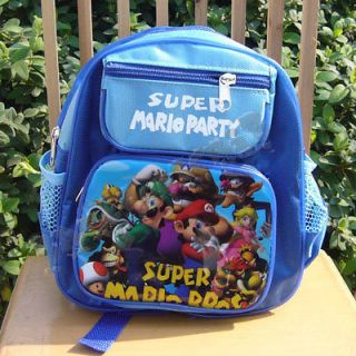 New CUTE SUPER MARIO BROS. TODDLER BOYS SMALL SCHOOLBAG BACKPACK