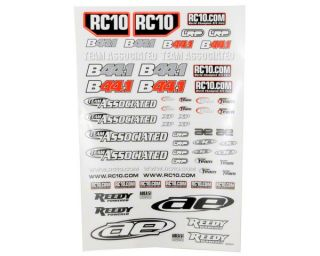 Team Associated B44.1 Decal Sheet [ASC9777]  Stickers & Decals   A