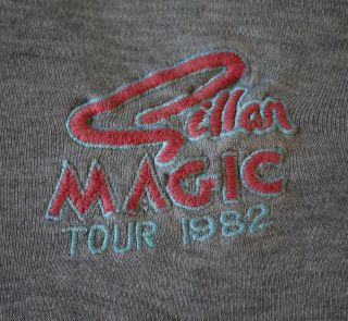GILLAN Vintage 1982 Tour Sweat Shirt   DEEP PURPLE BLACK SABBATH Metal