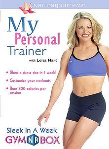My Personal Trainer with Leisa Hart DVD, 2004, Digital Collectors