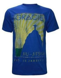 GRACIE JIU JITSU ACADEMY ROYAL TURISTA SHIRT SIZES S, M, L, XL, 2XL