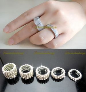 stretch band rings in Jewelry & Watches