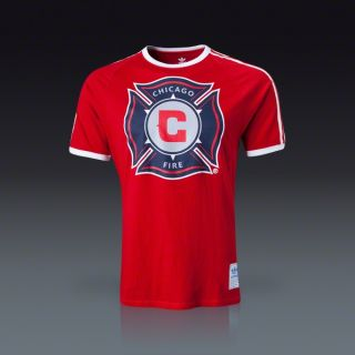 adidas Chicago Fire Classic Trefoil T Shirt  SOCCER