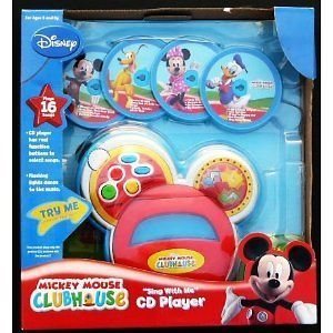 Disney Mickey Mouse Clubhouse Sing with Me CD Player   Brand New