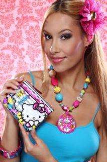 GREY MULTI HELLO KITTY CANDIES COIN BAG @ Amiclubwear Handbags online