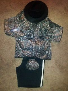michael jackson costume in Clothing,