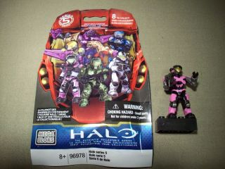halo pink spartan in Action Figures