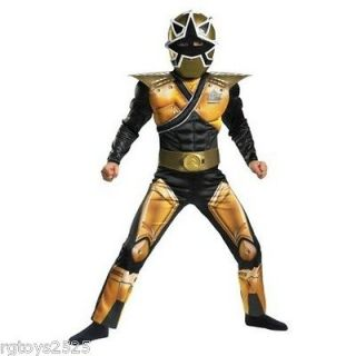 gold power ranger costume in Boys