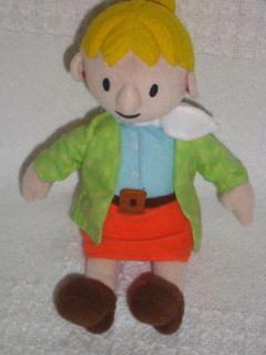 2001 HASBRO 11 Plush TALKING WENDY Doll BOB THE BUILDER Stuffed Toy