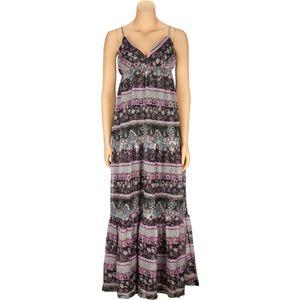 PASSPORT Peplum Chiffon Maxi Dress 186181149  Dresses