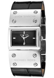 Michael Kors MK2151 Watches,Womens Black Dial Croc Embossed Black