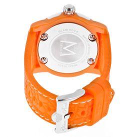 Glam Rock GD1021 Watches,Womens Miami Beach White Dial Orange
