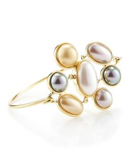 Mabe Pearl Cuff   Last Call by