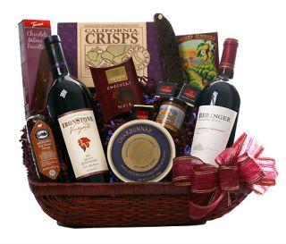 California Wine Tasting Gift Basket