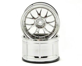 HPI LP35 LM R Wheels (Chrome) (2) (9mm Offset) [HPI33461]  RC Cars