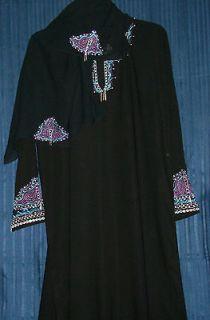 Abaya Dubai Hijab Kaftan Sheela Black Abayas Kurti Tunic Dupatta