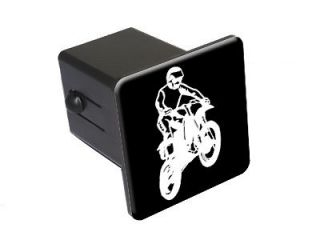 Dirt Bike   Tow Trailer Hitch Cover Plug Insert Truck Pickup RV
