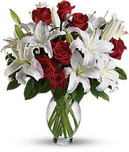 Telefloras Timeless Romance   Long Stemmed Roses Flowers, Telefloras
