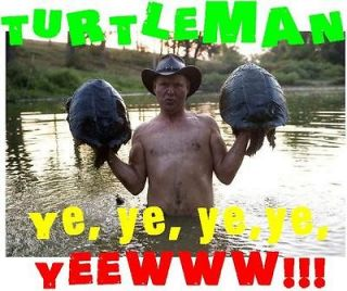NEW Kentucky Turtle man Yell T Shirt tee Ye Ye Yew Redneck Youtube
