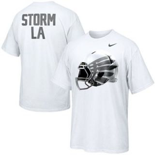 Nike Oregon Ducks Storm LA Game Day T Shirt   White   FootballFanatics