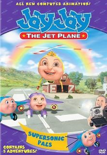 Jay Jay the Jet Plane   Supersonic Pals, Excellent DVD, Mary Kay