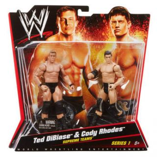WWE 2 Pack Figures   Ted Dibiase and Cody Rhodes   Toys R Us   Action