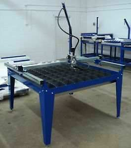 IPLASMA 4x4 CNC Plasma Cutting Table w/Stainless water pan & Stainless