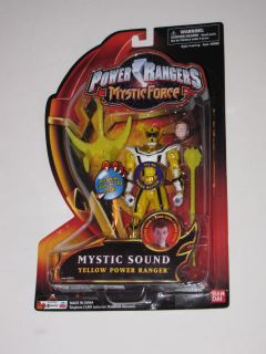 Power Rangers YELLOW MYSTIC FORCE SOUND Figure Super Sentai MAGIRANGER