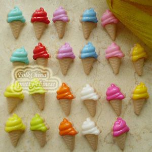 ice cream buttons in Sewing & Fabric