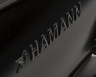 NEW ORIGINAL HAMANN MATT BLACK LOGO EMBLEM DECAL 3D BMW M5 M3 X5 X6