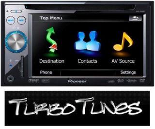 PIONEER AVIC F940BT 6,1 Zoll Navi+Video+Touchscreen+Freisprechen