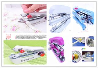 Portable Embroidery Cordless Hand held Clothes Stitch Sewing Machine