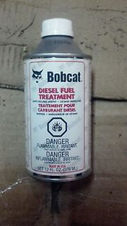 Bobcat Brand Diesel Fuel Treatment Cetane Skid Steer Equipment Tractor