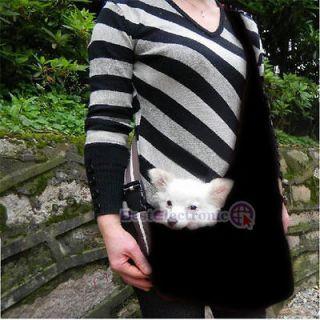 Size Black Pet Dog Carrier Single shoulder Bag Oxford Cloth Dog
