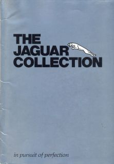 Jaguar Collections   luggage ties towels etc c.1983 sales brochure