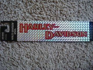 harley davidson window stickers in  Motors