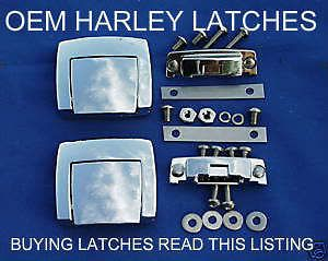 HARLEY DAVIDSON LATCH LATCHES KING TOUR PACK PAK CLASSIC ELECTRAGLIDE