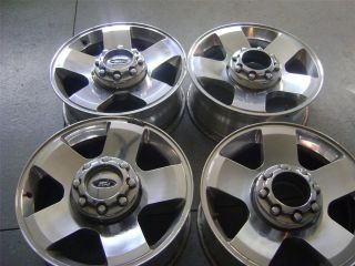FORD 4 X 4 F250 F350 OEM HARLEY DAVIDSON 20 RIMS WHEELS FACTORY W