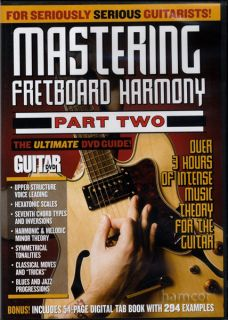Mastering Fretboard Harmony Part 2 Guitar Tuition DVD