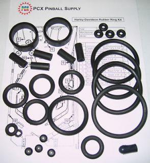 1999 Sega Harley Davidson Pinball Rubber Ring Kit