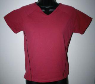 TUFF ATHLETICS Womens Yoga Shirt Size Medium