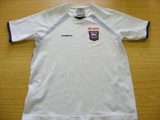 IPSWICH TOWN PUNCH FOOTBALL SOCCER WHITE TRAINING SHIRT JERSEY TOP 13